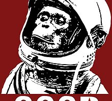 Space Monkey - CCCP by cpotter