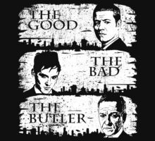 The Good, The Bad and The Butler by illproxy