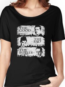 The Good, The Bad and The Butler Women's Relaxed Fit T-Shirt