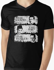 The Good, The Bad and The Butler Mens V-Neck T-Shirt