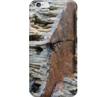 rusted rocks iPhone Case/Skin