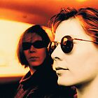 Orla &amp; Denise in Terry&#x27;s Car 1997 by Philip  Rogan
