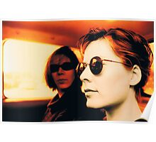 Orla & Denise in Terry's Car 1997 Poster