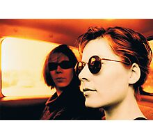 Orla & Denise in Terry's Car 1997 Photographic Print