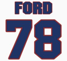 National football player Jacob Ford jersey 78 by imsport