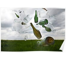 Glass Recycling Poster