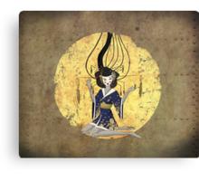 Goddess of Robotic Geishas Canvas Print