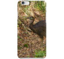 juvenile cassowary iPhone Case/Skin