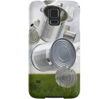 Can & Foil Recycling Samsung Galaxy Case/Skin