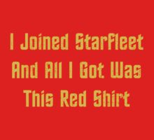 I Join StarFleet by KDGrafx