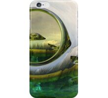 Slipping thru time like sun rays on glass iPhone Case/Skin