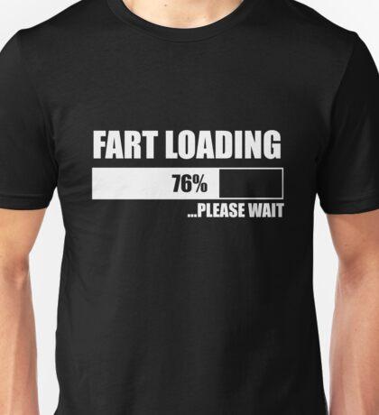 Fart Loading Please Wait Funny Unisex T-Shirt