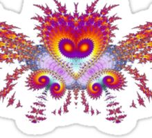 Fractal Bird Sticker