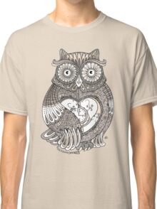The Timely Owl Tee Classic T-Shirt