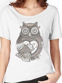 The Timely Owl Tee Women's Relaxed Fit T-Shirt