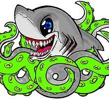 Sharktopus by wallyhawk