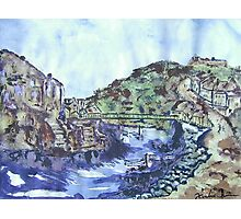 Staithes N. Yorkshire Photographic Print