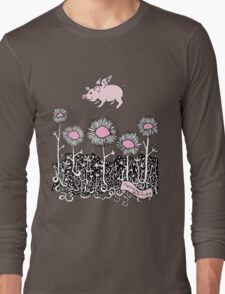 Pigs will Fly Long Sleeve T-Shirt