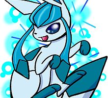 Pokemon- Glaceon by wallyhawk