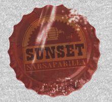 Sunset Sarsaparilla Bottle Cap by AnEpicPerson