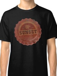 Sunset Sarsaparilla Bottle Cap Classic T-Shirt