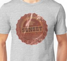 Sunset Sarsaparilla Bottle Cap Unisex T-Shirt