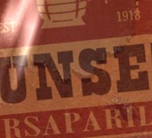 Sunset Sarsaparilla Bottle Cap Sticker