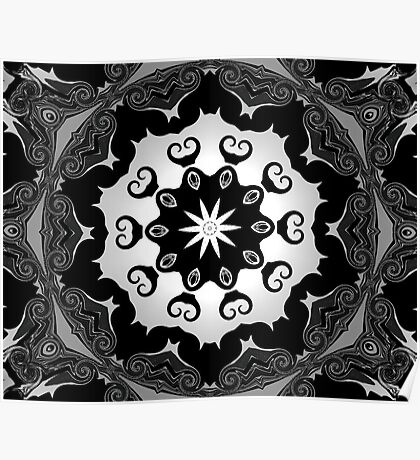 black lace Poster