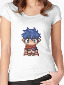 Pixel Ike - Fire Emblem : Path of Radiance Women's Fitted Scoop T-Shirt