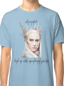 Thranduil, King of the Woodland Realm Classic T-Shirt