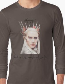 Thranduil, King of the Woodland Realm Long Sleeve T-Shirt