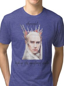 Thranduil, King of the Woodland Realm Tri-blend T-Shirt