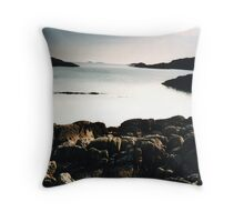 The Ross of Mull Throw Pillow
