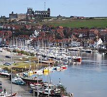 Whitby On A Calm Day by richieh755