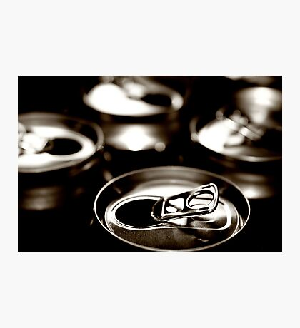 beer cans Photographic Print