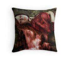 Dreaming in free fall Throw Pillow