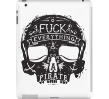 Fuck Everything iPad Case/Skin