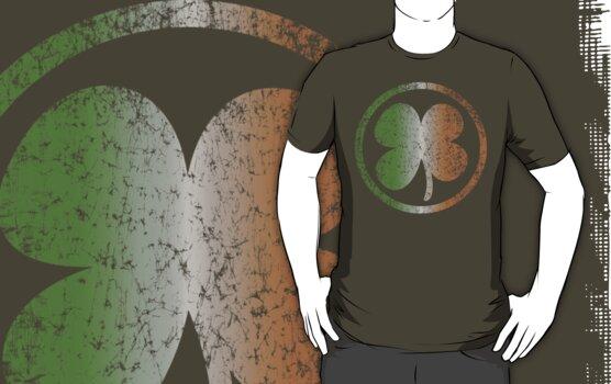 Shamrock Fade t shirt by iEric