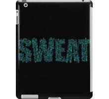 Blue Sweat iPad Case/Skin