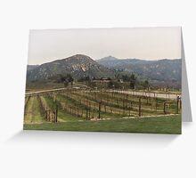 Vineyard Greeting Card