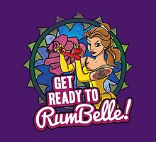 Get Ready To RumBelle! (Belle) (Beauty and the Beast) by PixelStampede