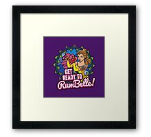 Get Ready To RumBelle! (Belle) (Beauty and the Beast) Framed Print