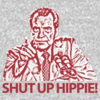 NIXON - Shut up hippie! by kempinsky