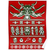 Chrono Christmas Sweater Poster