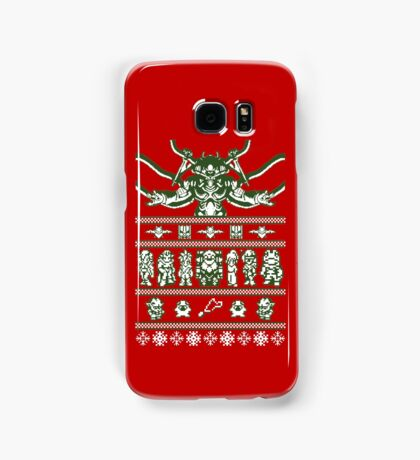 Chrono Christmas Sweater Samsung Galaxy Case/Skin