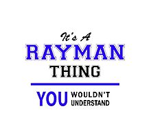 It's a RAYMAN thing, you wouldn't understand !! by thestarmaker