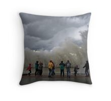 The Storm... Throw Pillow