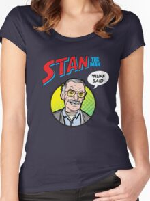Stan the Man - 'Nuff Said! Women's Fitted Scoop T-Shirt