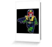 MEGABLOCK-City Law Greeting Card