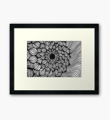 ~ hypnotic ~ Framed Print